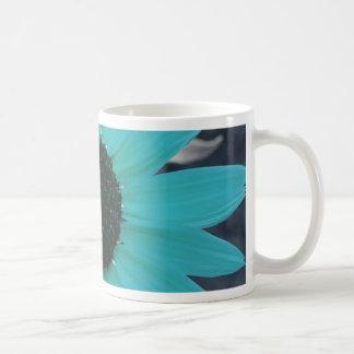 Tournesol bleu de jardin mug