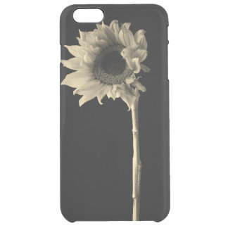 Tournesol - photographie monochrome de beaux-arts coque iPhone 6 plus