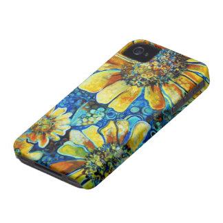 Tournesols, cas de beaux-arts pour l'iphone4 coque iPhone 4