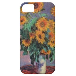 Tournesols de Monet de beaux-arts Coque Barely There iPhone 5