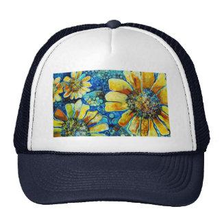 Tournesols, produits de beaux-arts casquettes