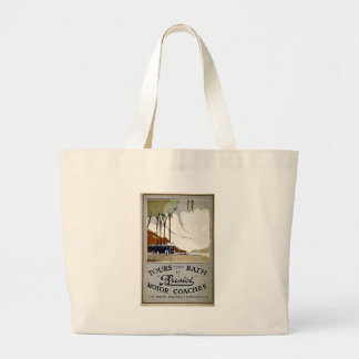 Tours from Bath by Bristol Large Tote Bag