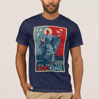 Tous grêlent le Dieu-Roi Obama T-shirt