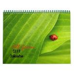 Tout le calendrier du vert 2011