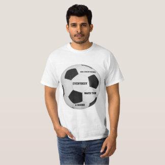 Tout le monde veut être un Geordie T-shirt