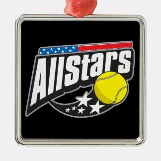 Tout le tennis d'étoiles décoration pour sapin de noël