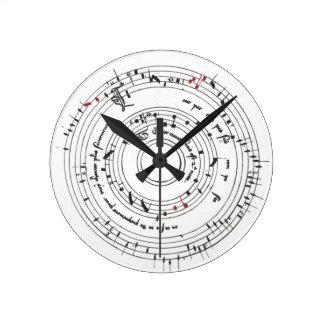 Tout par compas handle applying clock