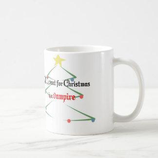 Tout que je veux pour Noël est un vampire Mug