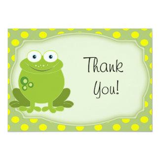 Toute la note de Merci de grenouille d'occasion Invitation