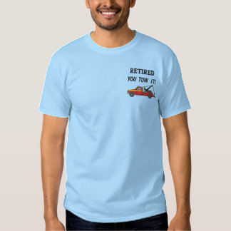 Tow Truck Driver Embroidered Shirt