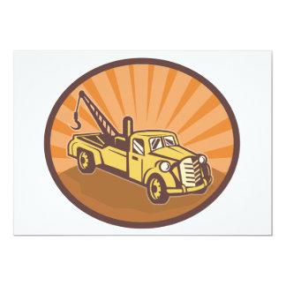 Tow Truck Invitations
