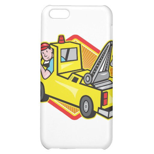 Tow Wrecker Truck Driver Thumbs Up Cover For iPhone 5C