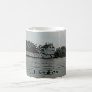 Towboat L.J. Sullivan Coffee Mug by Janz