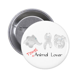 Towel Animal Lover Pin