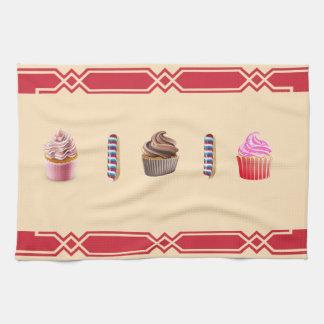 towel kitchen cupcake