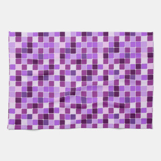 Towel mosaic texture