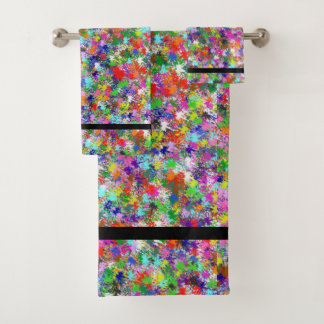 Towel Set - Paint Splatters One