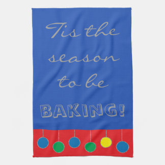 "Towels ""Christmas Baking"""