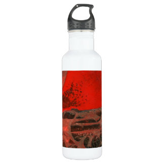 """Tower #3""  Abstract Liberty Bottle"