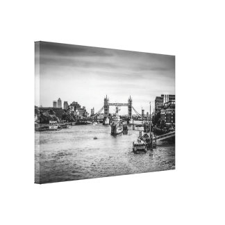 Tower Bridge and the River Thames London Canvas Print