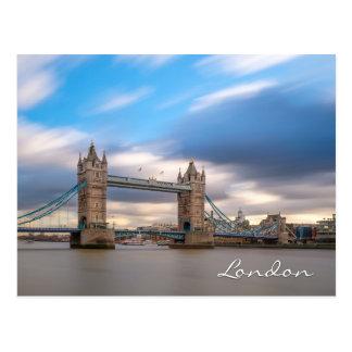 Tower Bridge at dusk, London UK Postcard