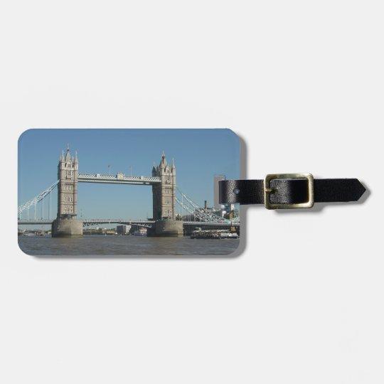 Tower Bridge Bag Tag