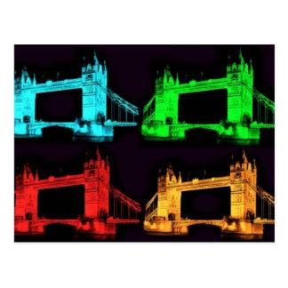 Tower Bridge Collage Postcard