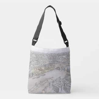 Tower Bridge Cross Body Tote Bag