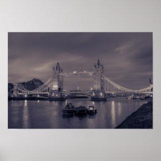 Tower Bridge Dusk Print
