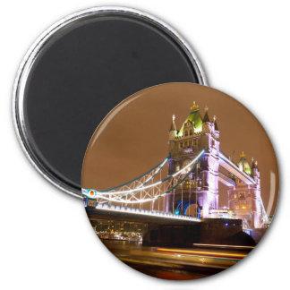 Tower Bridge Evening Magnet