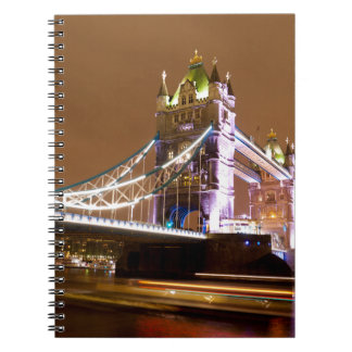 Tower Bridge Evening Notebook