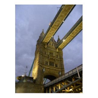 Tower Bridge in London Postcard