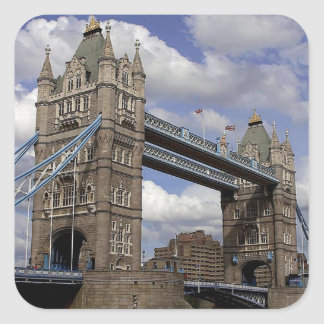 Tower Bridge in London Square Sticker