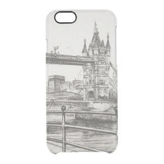 Tower Bridge London 2006 Clear iPhone 6/6S Case