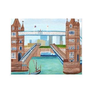 Tower Bridge London Canvas