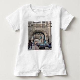 Tower Bridge, London, England Baby Romper