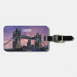 Tower Bridge London England Luggage Tag