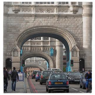 Tower Bridge, London, England Napkin