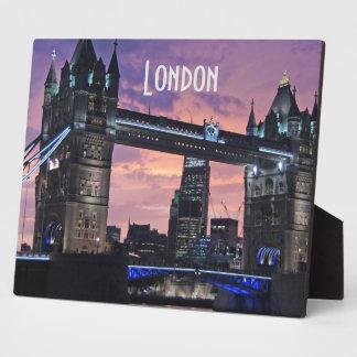 Tower Bridge London England Plaque