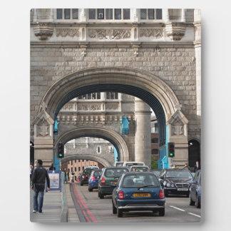 Tower Bridge, London, England Plaque