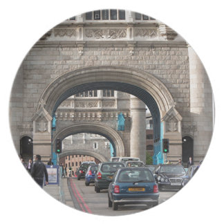 Tower Bridge, London, England Plate