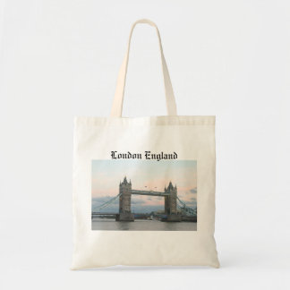 Tower Bridge, London England tote bag