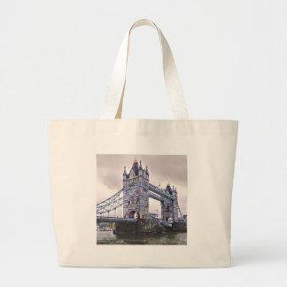 Tower Bridge London Large Tote Bag