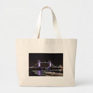 Tower Bridge, London Large Tote Bag