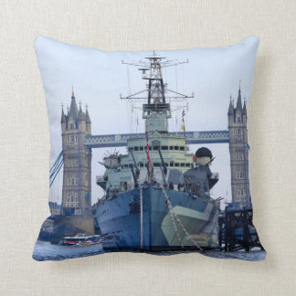 Tower Bridge London. Throw Pillow