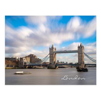 Tower Bridge, London UK Postcard