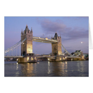 Tower Bridge of London Notecard