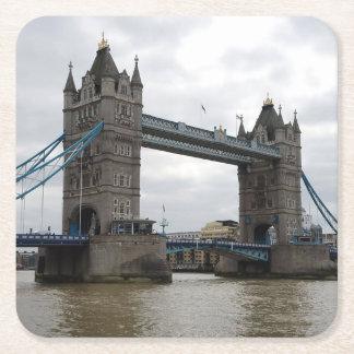 Tower Bridge Paper Coaster Set