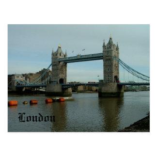 Tower Bridge - postcard