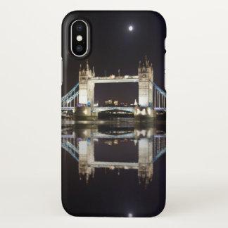 Tower Bridge Reflected iPhone X Case